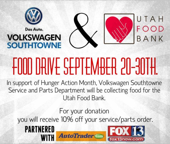 food bank event Utah