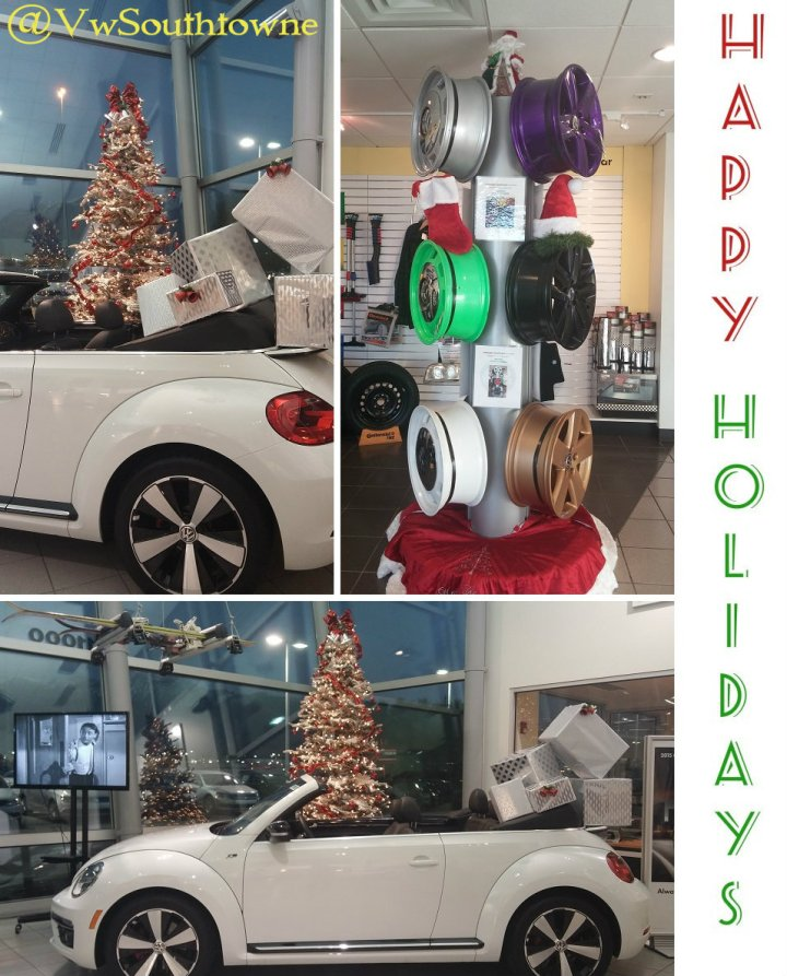 2014 cHRISTMAS VW Southtowne IN STORE