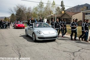 VW Southtowne Beetle and Real Monarchs