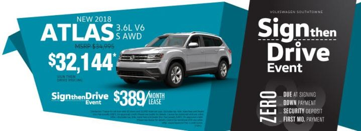vw atlas utah specials november